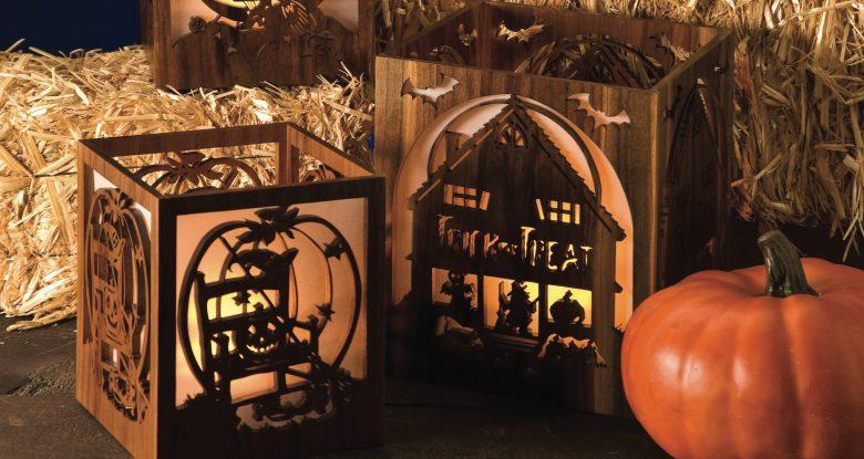 Making Halloween Luminaries