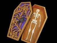 Skeleton Coffin Box