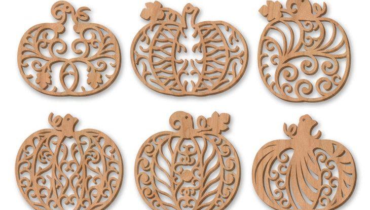 Filigree Fretwork Pumpkins