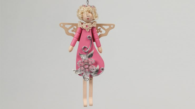 Jointed Angel Ornament