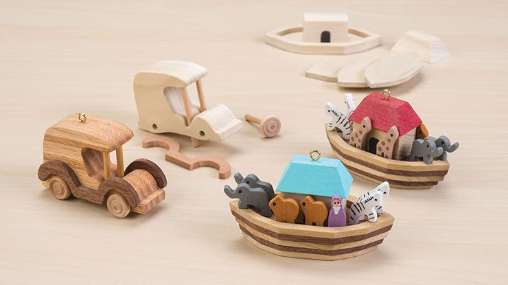 Nostalgic Mini Toy Ornaments