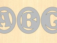Scroll-Friendly Monogram Patterns