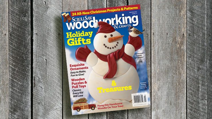 Scroll Saw Woodworking & Crafts Winter 2019 (Issue #77)