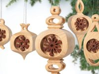 Compound-Cut Ornaments