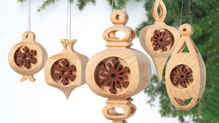 Compound-Cut Ornaments