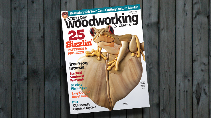 Scroll Saw Woodworking & Crafts Summer 2020 (Issue #79)