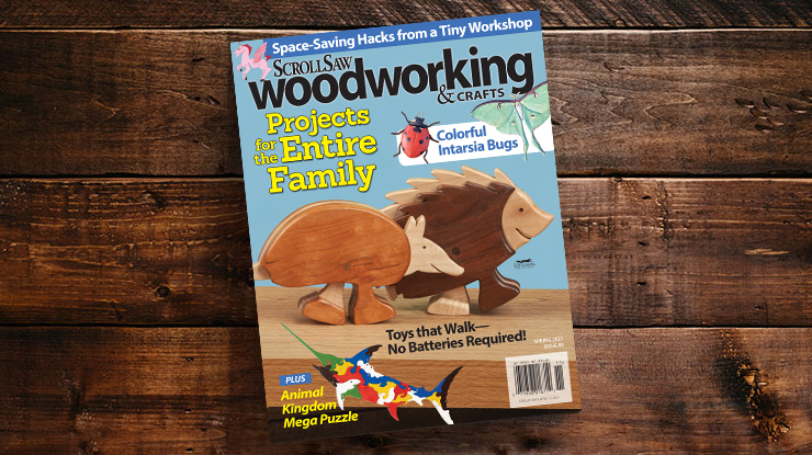 Scroll Saw Woodworking & Crafts Spring 2021 (Issue #82)