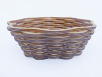 Scroll Sawn Wicker-Style Basket