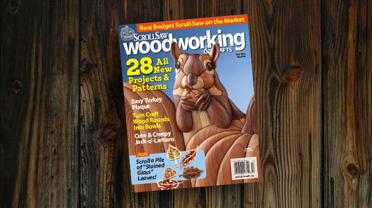 Scroll Saw Woodworking & Crafts Fall 2021 (Issue #84)