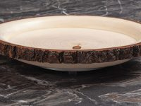 Rustic Live-Edge Serving Tray