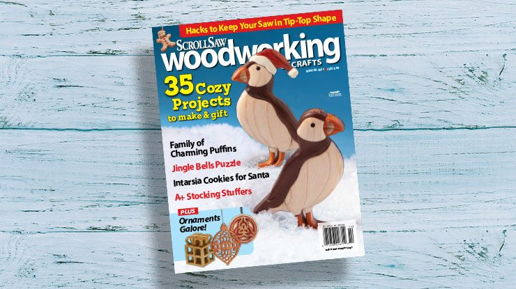 Scroll Saw Woodworking & Crafts Winter 2021 (Issue #85)