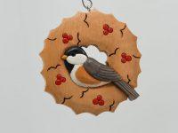 Carving a Chickadee Ornament