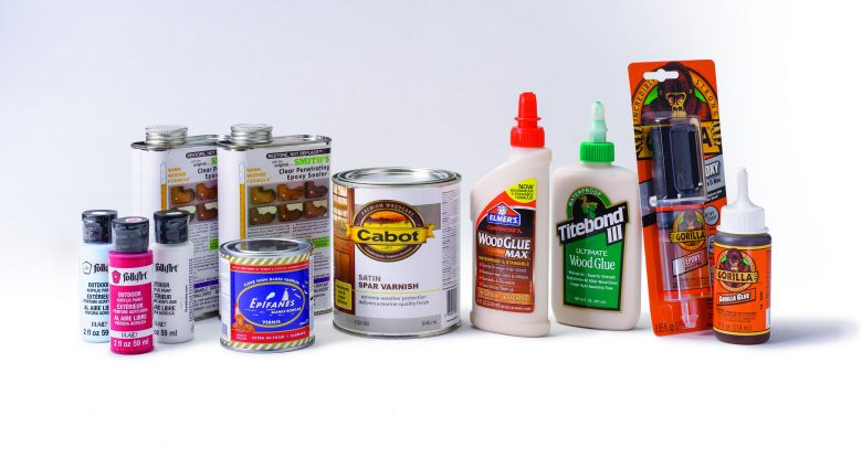 Outdoor Finishes and Glues