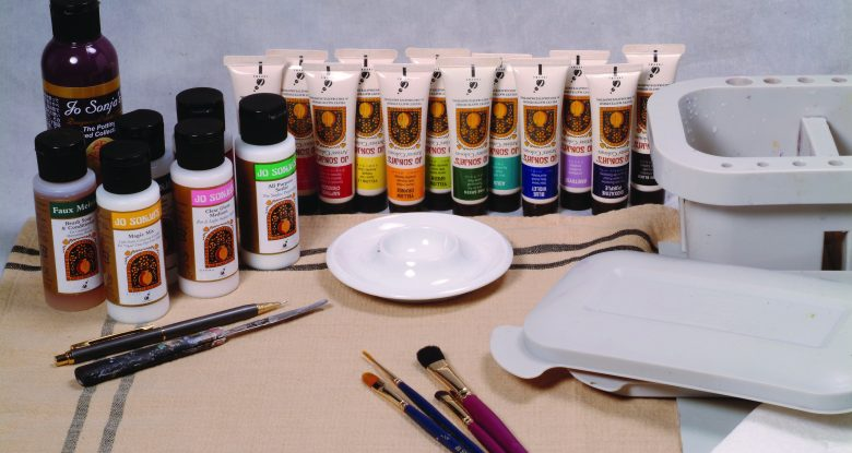 Setting Up Your Painting Area