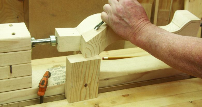 Shop-Made Rotary Carving Vise