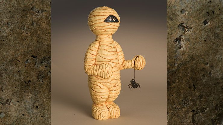 Carving a Mummy