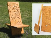 Carved Garden Chair Project