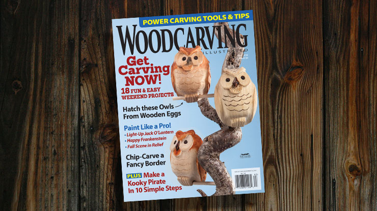 Woodcarving Illustrated Fall 2018, Issue 84