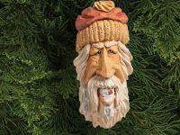 Gold-Tooth Santa Ornament