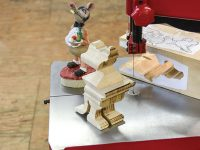 We Review the New Pégas Scroll Band Saw