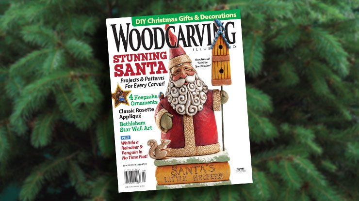 Woodcarving Illustrated Winter 2019, Issue 89