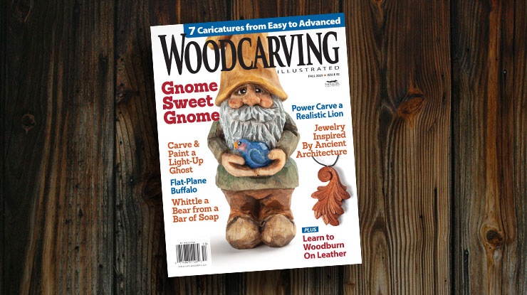 Woodcarving Illustrated Fall 2020, Issue #92
