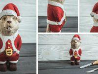 BeaverCraft Beaver Santa