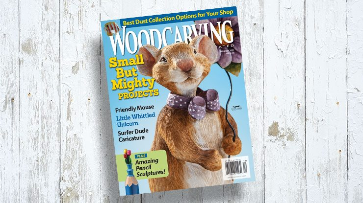 Woodcarving Illustrated Summer 2021, Issue #95