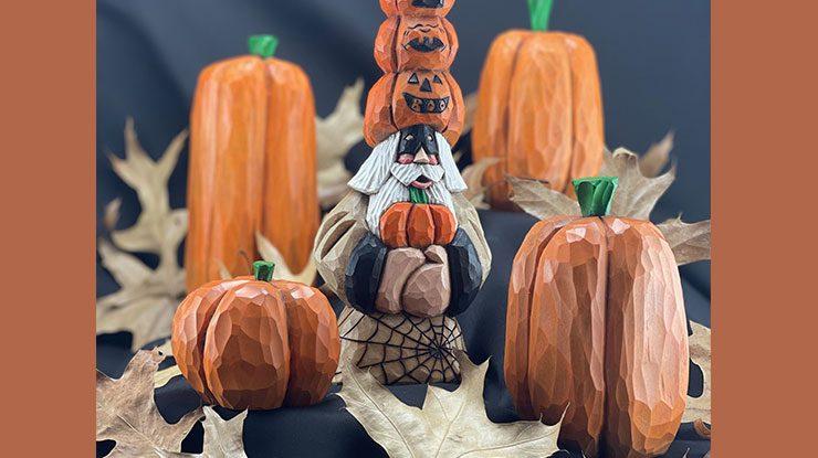 Simple Folk Art Pumpkins